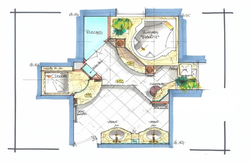 D co simulateur conception salle de bains villeurbanne for Conception salle de bain en ligne